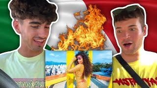 (ITALIAN REACTION) Ozuna & Anitta - Muito Calor