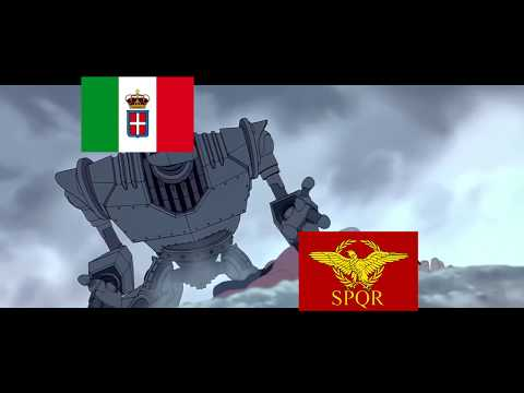 [HOI4]When Italy recreates the Roman Empire