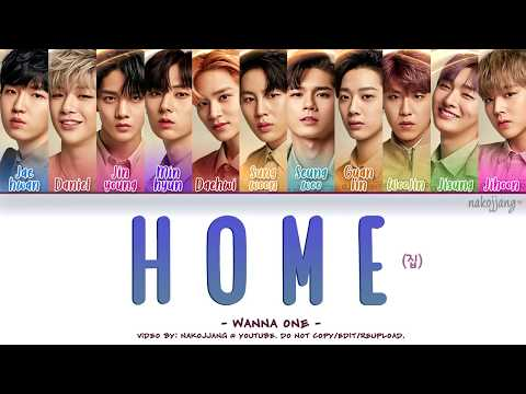 Free Download Wanna One (워너원) – One's Place/home (집) (color Coded Lyrics Eng/rom/han/가사) Mp3 dan Mp4