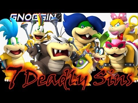 Thumbnail: Mario Theory: Koopalings are the 7 Deadly Sins? | Gnoggin