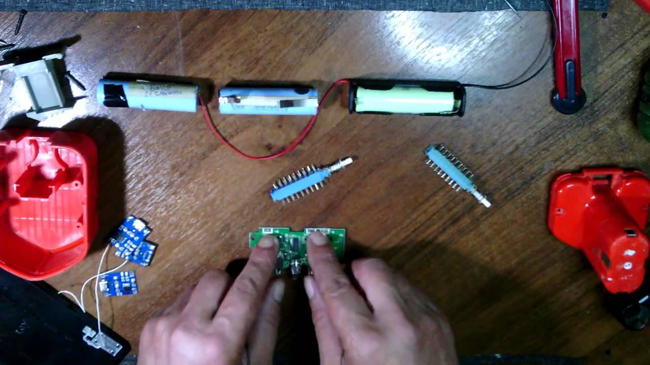 схема контроллер заряда шуруповерта