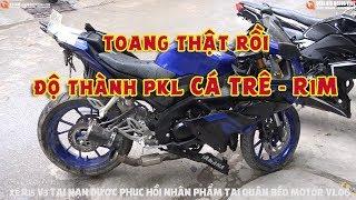 Siêu Phẩm Tai Nạn Độ R1M và MT15► R15 V3 Toang Tan Nát, Chủ Xe Nhập Viện Được Phục Hồi NTN?