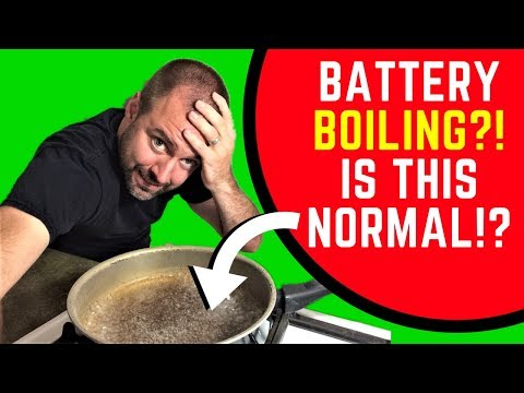 why-is-my-battery-making-a-bubbling-sound?!-is-this-normal?-[solved]