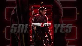 Snake Eyes Motion Poster