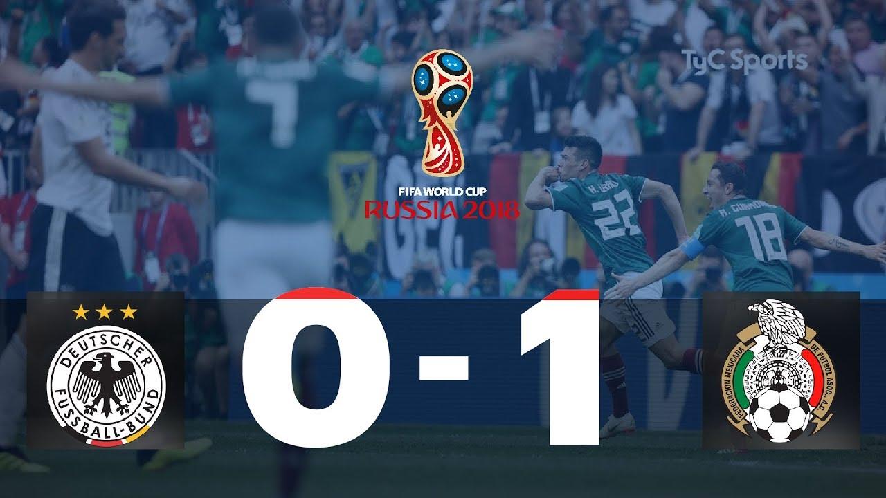 Highlights Alemania vs. México   #TyCSportsMundial