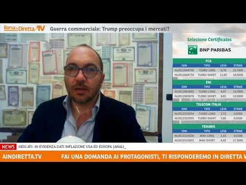 BIND TV 12 marzo 2018 – Telecom Italia: lo scenario cambia e si intravvedono spunti rialzisti