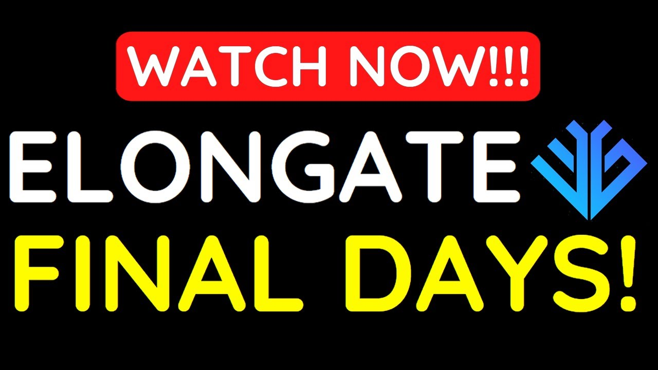 Download ELONGATE FINAL DAYS!!! YOU NEED TO KNOW THIS!