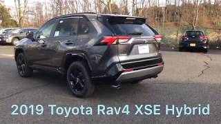 2019 Toyota Rav4 XSE Hybrid | First Look Walkaround |