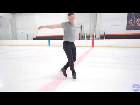 """Adam Rippon's Mesmerizing Figure Skating Is Only Made Better by Ben Platt Singing """"River"""""""