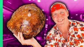 GIANT FREAKING CLAM!! Southeast Asia's Wildest Seafood!!