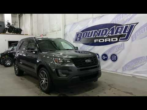 2017 Ford Explorer Sport w/ Ecoboost, DVD Players Review | Boundary Ford