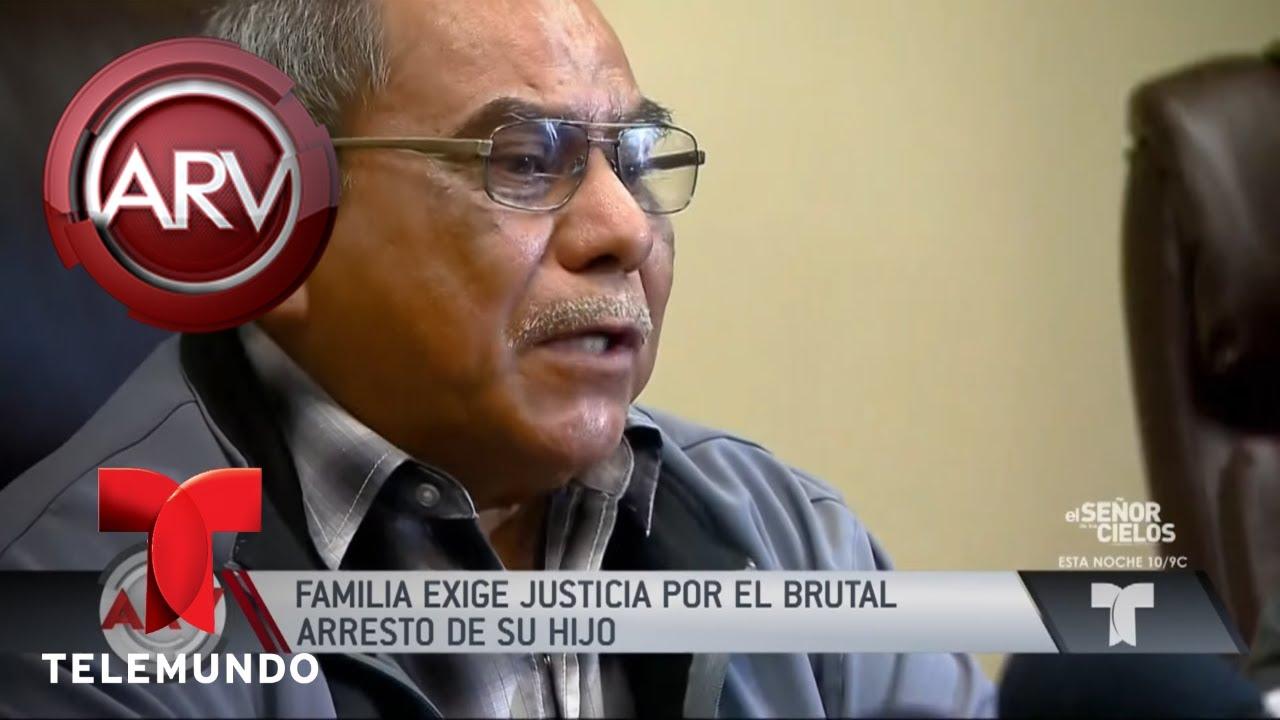 piden-justicia-por-muerte-de-joven-durante-un-arresto-al-rojo-vivo-telemundo