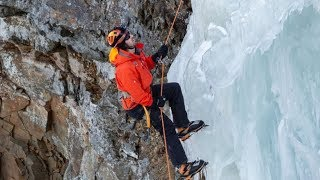 Frozen waterfalls attract climbers in N.L.