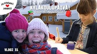 KYLÄKOULU MY DAY #vaihtovuosisodankylässä vlogi 31