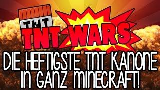 💥 DIE HEFTIGSTE TNT KANONE IN GANZ MINECRAFT! 💥 - TNT WARS | GAMERSTIME