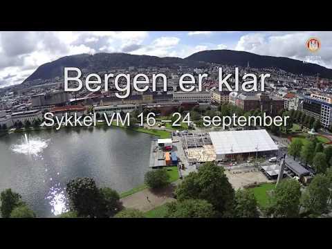 Bergen er klar til sykkel-VM