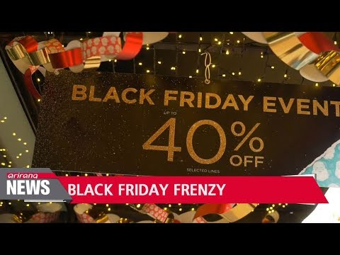 Online sales set new record on Black Friday and Cyber Monday