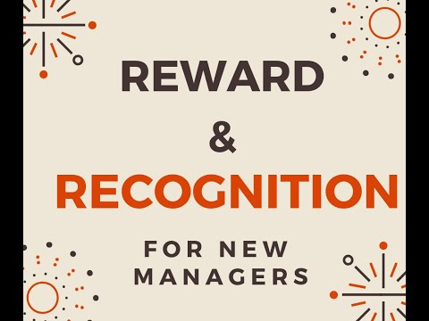 Store Manager Academy Week 3 Lesson 11 - Reward & Recognition