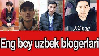 Uzbek blogerlari qancha pul topadi eng boy blogerlar