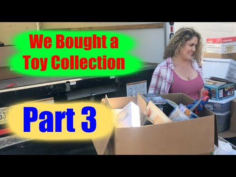 We Bought A Toy Collection For $3800 Part 3 Storage Wars Exo Squad