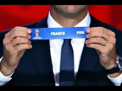 Resultats du tirage au sort de la coupe du monde 2018 youtube - Resultats de la coupe du monde ...