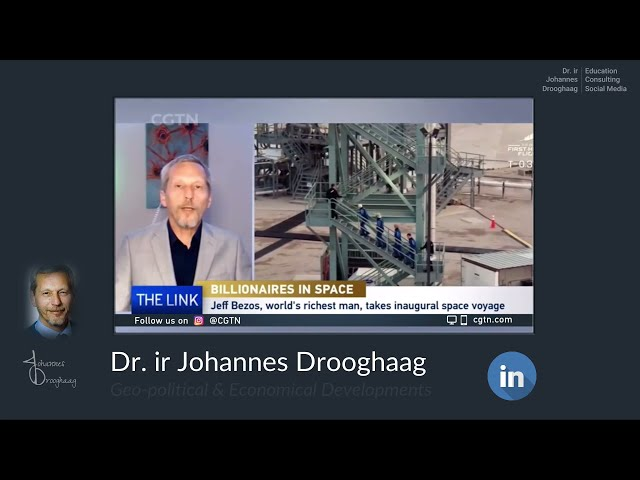 Dr  ir Johannes Drooghaag   Analyst - Space Race and Sustainability