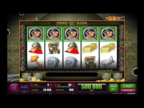 Online Slot PIGGY BANK ★MEGA WIN★ €5 000