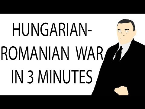 Hungarian-Romanian War | 3 Minute History