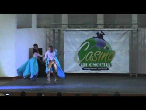 "SALSA CASINO - HABANA CARACAS  - PAREJA PROFESIONAL ""Georgenis y Mariale"""