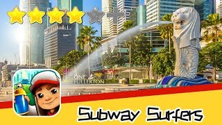 Subway Surfers - Kiloo - Singapore Day3 Walkthrough Super Classic Game Recommend index four stars