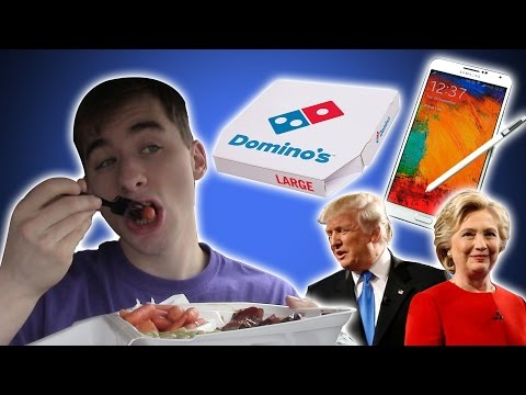 Eating Lunch #1 - The Election, Broken Phone, & Work