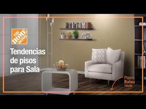 Tendencia de pisos para sala youtube for Pisos y paredes para banos modernos