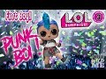 LOL Surprise Confetti Pop Wave 2 First Look At Punk Boi First Ever LOL Surprise BOY!