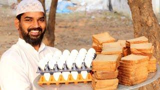 Bread Omelette - Quick & Easy Snack/ Breakfast Recipe by Nawab's kitchen