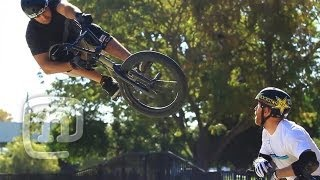 Ryan Nyquist & Rob Darden BMX How To Toboggan: Getting...