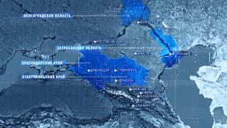 Пример оформления карты поставок газа предприятия