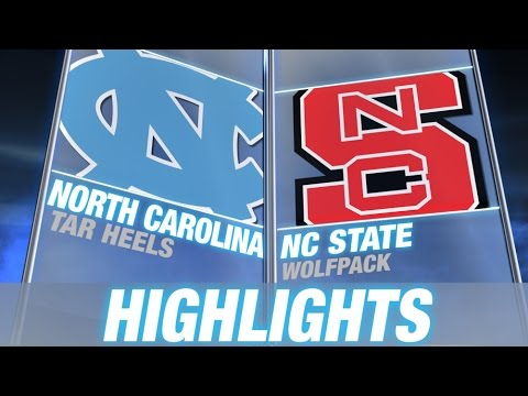 North Carolina vs NC State | 2014-15 ACC Men's Basketball Highlights
