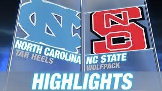 North Carolina vs NC State | 2014-15 ACC Men