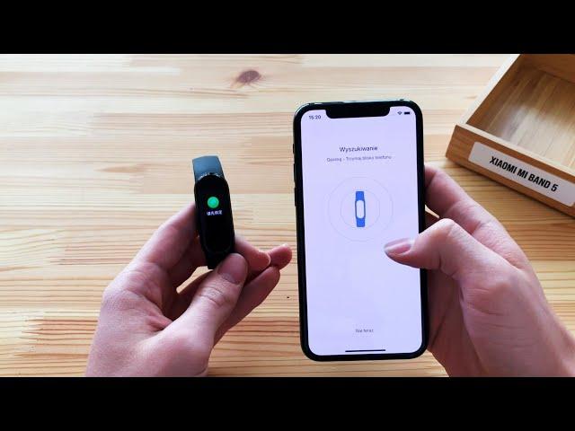 Jak sparować Xiaomi Mi Band 5 ze smartfonem