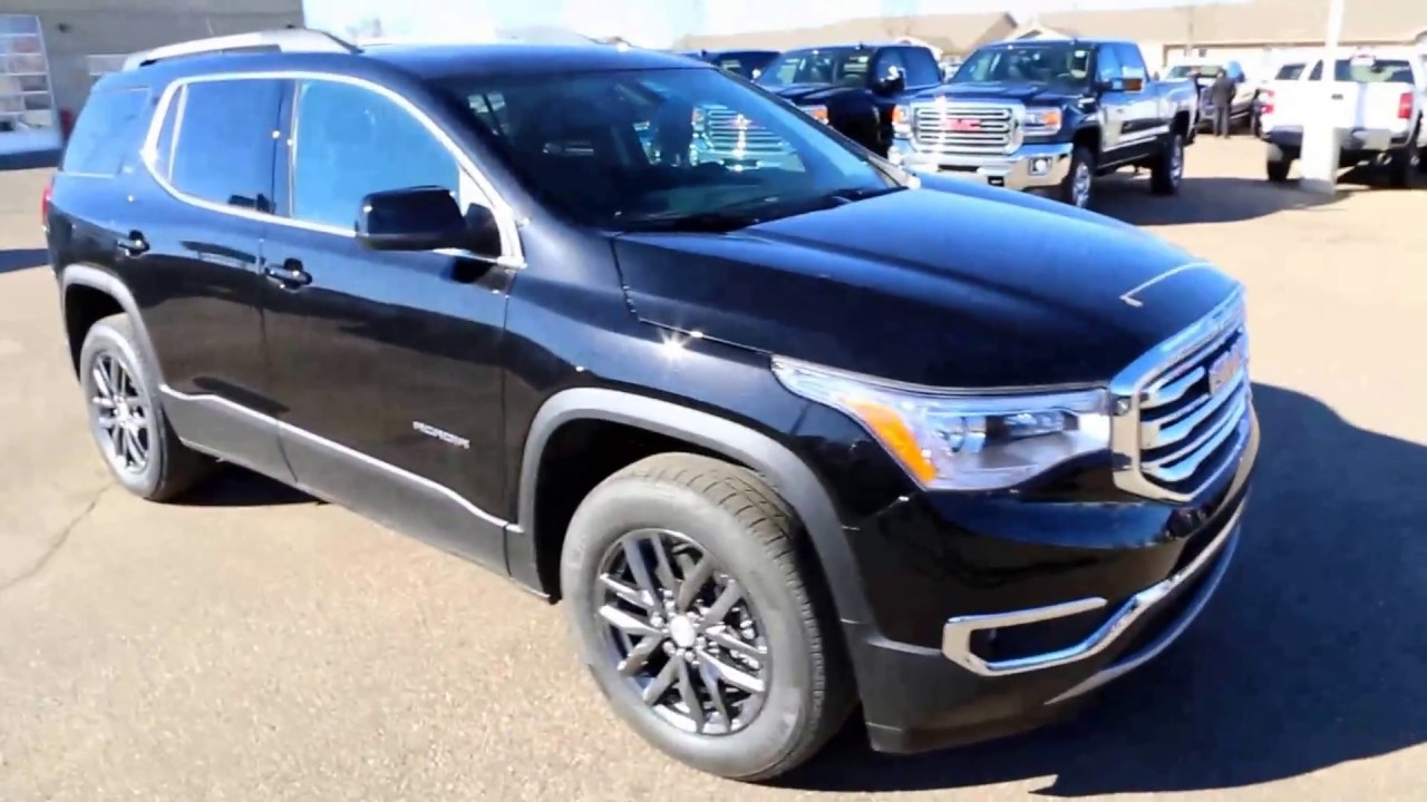 Ebony Twilight Metallic 2017 GMC Acadia SLT-1 for sale in ...