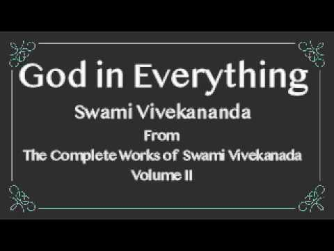 GOD IN EVERYTHING - FROM THE COMPLETE WORKS OF SWAMI VIVEKANANDA, VOL 3 - Audiobook - lomakayu