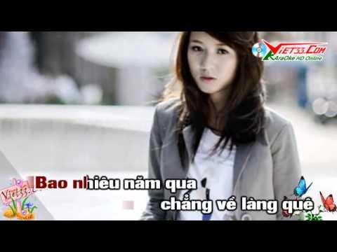 KaraOke Về Quê Ngoại   Nhạc Sống   Clip Hót Girl
