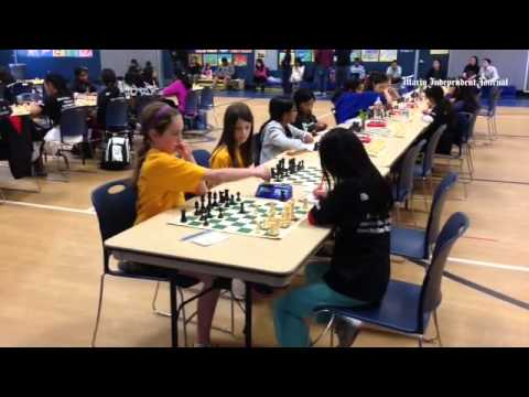 Video: Chess tournament Saturday at Mark Day School in San Rafael.