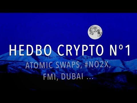 Hebdo Crypto : Atomic Swaps, #NO2X, Christine Lagarde, Dubai Coin ...