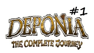 Let's Play Deponia: The Complete Journey - Getting Started - Part 1