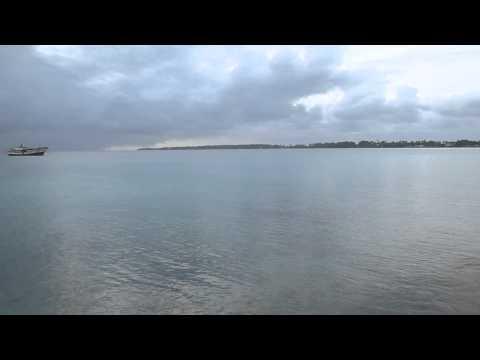 Marshall Islands   Majuro Lagoon Clouds