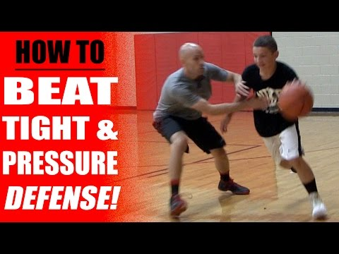 How To Beat Tight Defense - Basketball Drills - Pressure Defense