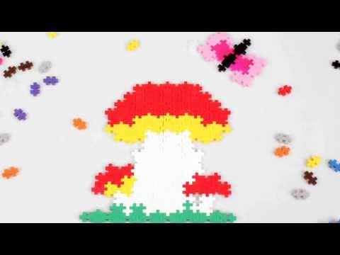 PlusPlus - Les petites créations - Le bouquet de Champignons