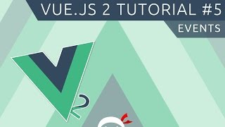 Vue JS 2 Tutorial #5 - Events