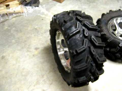 """27"""" ITP XTR TIRES WITH 14"""" ITP TYPE 7 WHEELS - YouTube"""